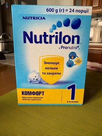 Дитяча сумiш смесь Nutrilon 1 comfort Pronutra+ комфорт