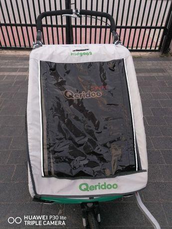 Przyczepka rowerowa Qeridoo kidgoo 2