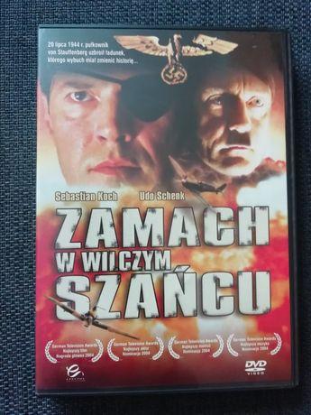 Płyta DVD Zamach w wilczym szańcu.