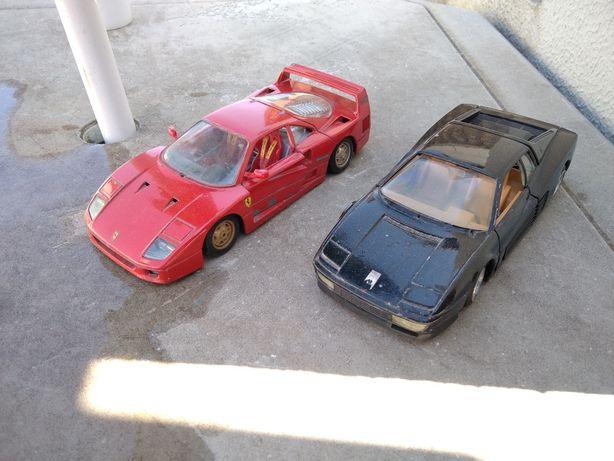 Ferrari 1:24 Troco por Honda S2000 1:18