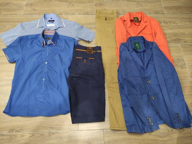 Koszule marynarki spodnie spodenki tanio