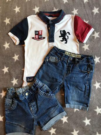 Джинсовые шорты на мальчика 3-4 года