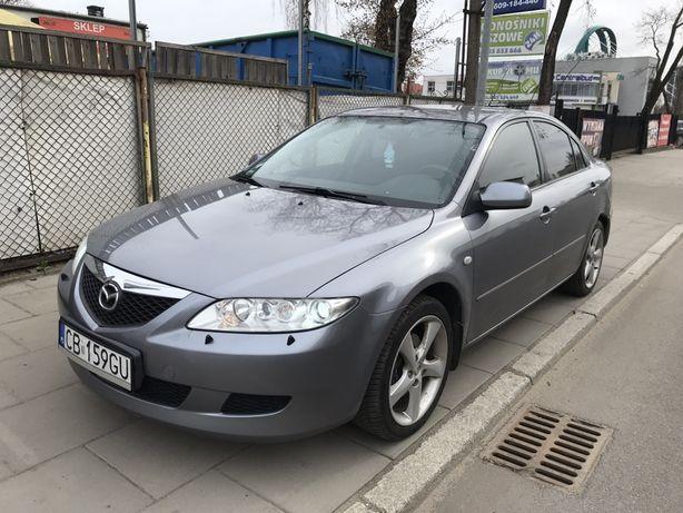 Mazda 6 2.3_Xenon_Bose_grzane sied_BRAK rdzy_Przebieg_BDB stan_Zamiana