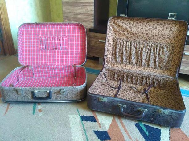 Ретро валізи чемодани чемоданы чемодан