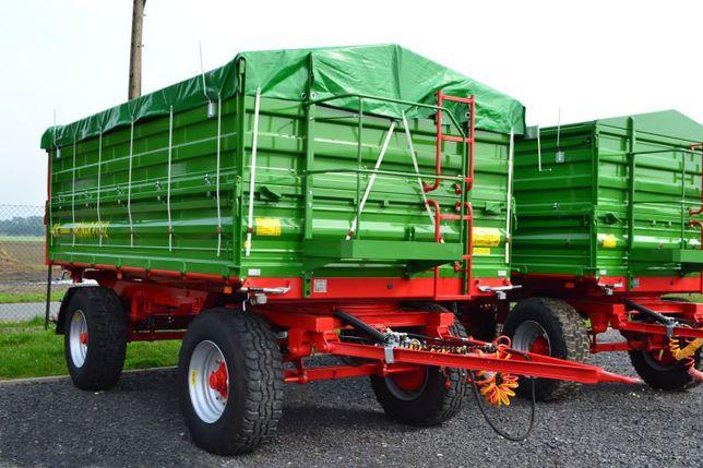 Przyczepa Rolnicza PRONAR PT612 Dwuosiowa 12 Ton