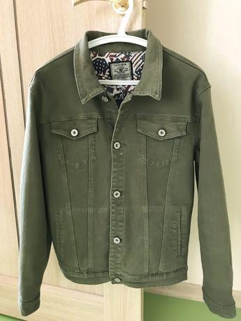 Джинсовая куртка цвета хаки jeans для подростка jeans, Китай, р.XL