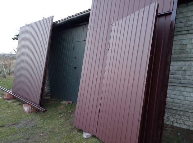 Brama garażowa, na halę, do wiaty, do stodoły