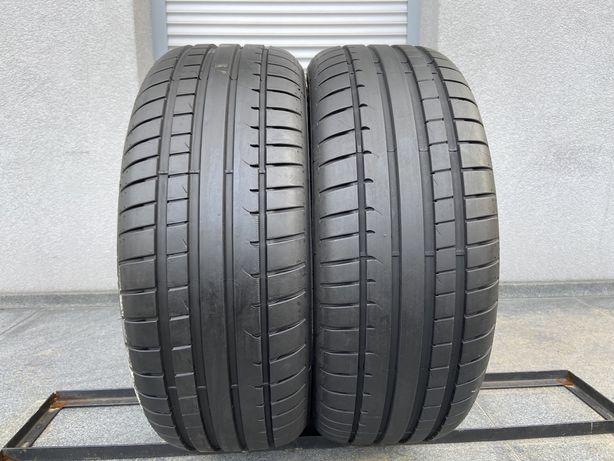 2szt letnie 225/55R17 Dunlop 7,2mm 2019r bdb stan! gwarancja! L370
