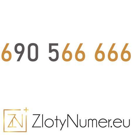 """Złoty Numer 6_905_66666 """"6 szóstek"""" WYPRZEDAŻ!"""