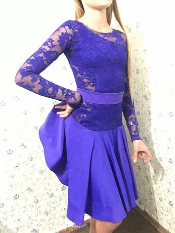 Бальное платье Юниоры трансформер Станларт и латина 152-155