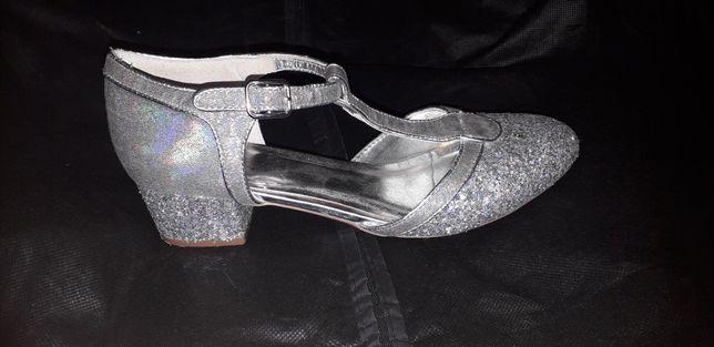 Брендовые, серые туфли, MONSOON CHILDREN, размер 37, ст.23см