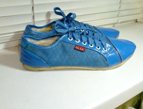 Удобные мягкие кроссовки-мокасины-туфли на шнурках,эко-кожа