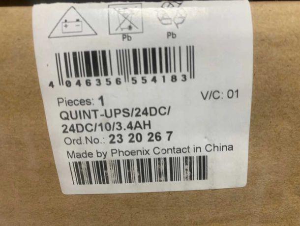 Zasilacz UPS Phoenix Contact UPS/24DC/24DC/10/3.4AH
