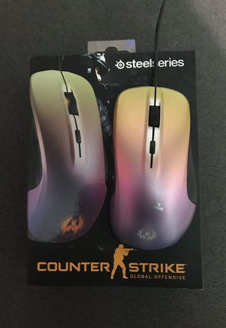 Игровая мышка Steelseries rival 300 fade cs go edition(razer,logitech)