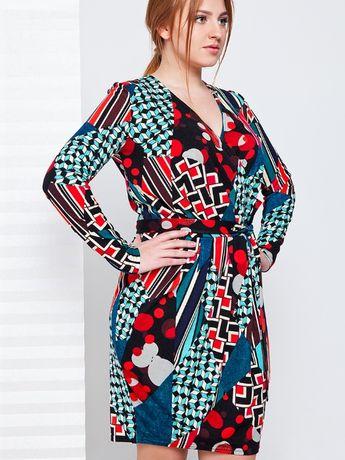 Стильне кольорове жіноче плаття розмір 54