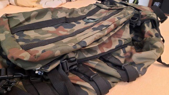 Oryginalny plecak duży i mały - zasobnik piechoty górskiej