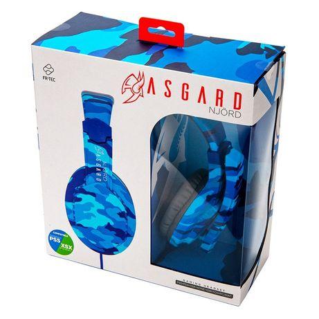 Auscultador Gaming com fio PS4/Xbone/Switch/PC Asgar Njord