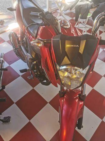Honda CB125F 2015 como nova