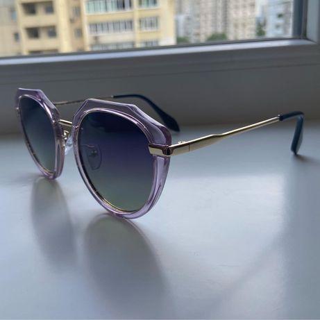 Женские Очки с фиолетовой оправой