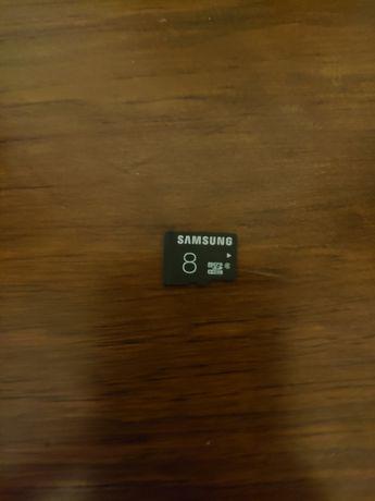 Cartão de Memória Micro SD 8GB Samsung