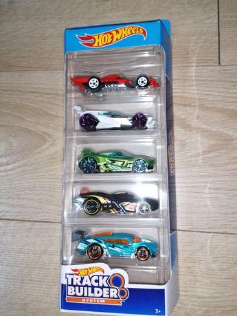 Autka, resorki Hot Wheels, nowe, 5-pak, różne serie