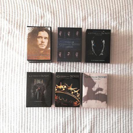 Guerra dos tronos - DVD - Óptimas condições - Desde 10€
