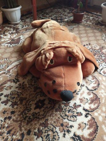 Игрушка мягкая большая собака