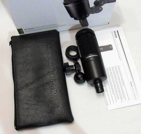 Конденсаторный микрофон  Audio-Technica AT2020 P48 XLR аудио