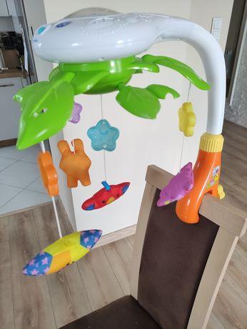 Karuzela zabawka dla niemowlaka projektor Smily Play