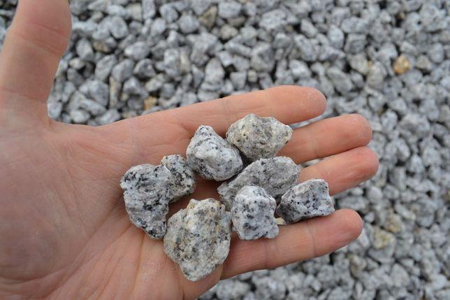 Grys granitowy, 8-16, 11-22 ogrodowy, ozdobny,dalmatyńczyk
