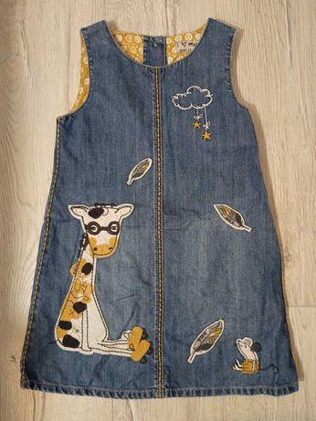 Sukienka Sukieneczka Next żyrafa