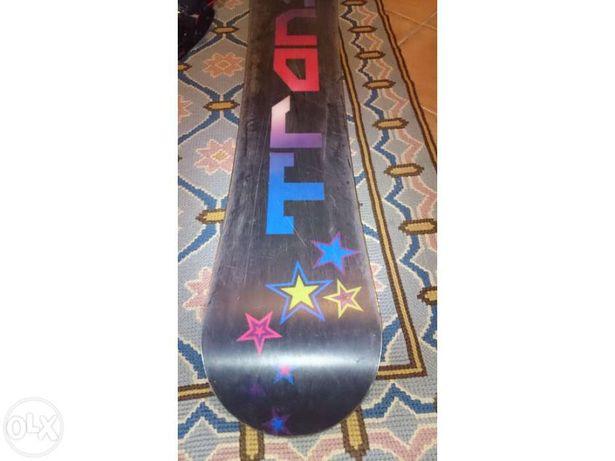Prancha de snowboard