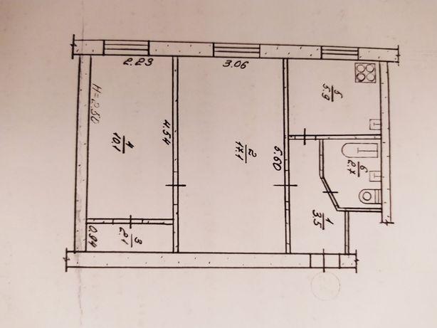 Продам квартиру двушку в центре