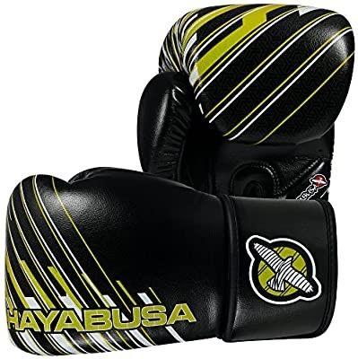 Боксерские перчатки Hayabusa кожа