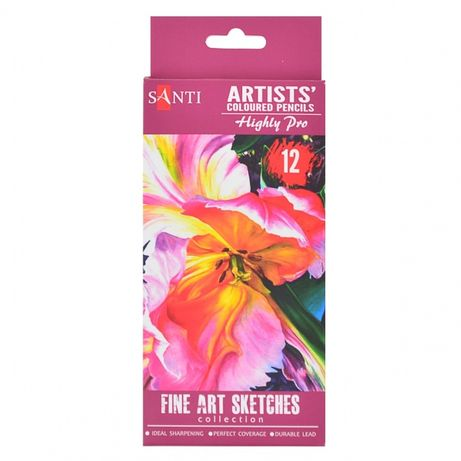 Карандаши цветные - Набор карандашей | мольберт бумага пастель бумага