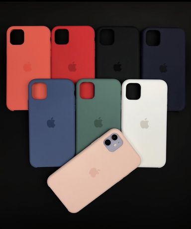 Capas Apple  Silicone IPhone 5S/SE/6/7/8/X/Xs/Xr/11/11Pro