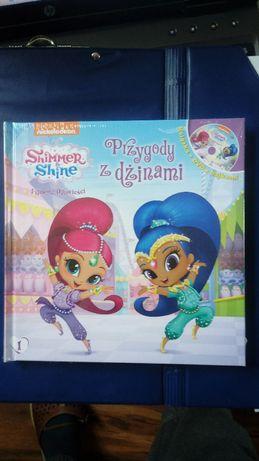 Shimmer & Shine Książka z DVD