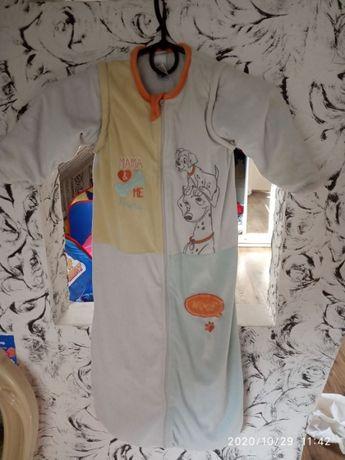 Спальный мешок Disney слипик для сна пижама для малышей