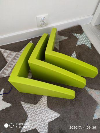 Półki mammut Ikea na książki
