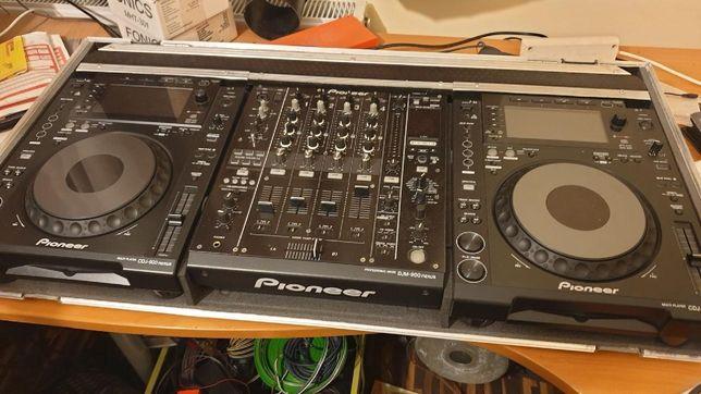 Mikser DJM 900 NEXUS + 2 DECK CDJ 900 NEXUS
