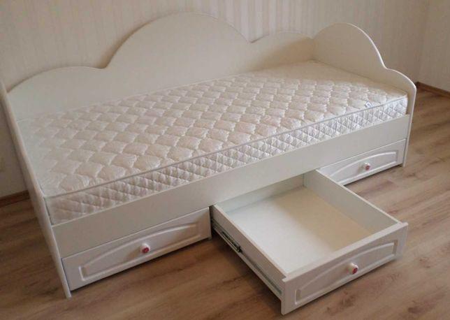 Кровать детская/ подростковая с выдвижными ящиками. Николаев.