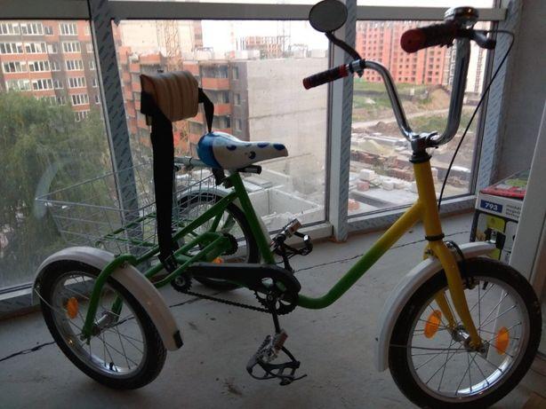 Дитячий триколісний велосипед ВТПД