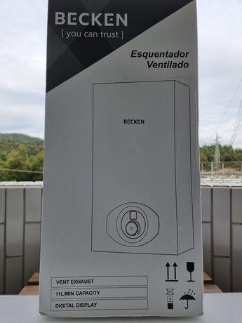 Esquentador ventilado Becken 11L (Gás butano/propano) novo selado