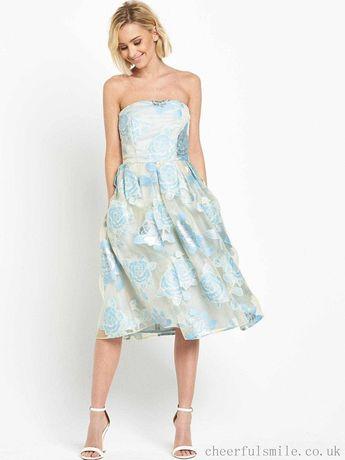 НОВОЕ Нарядное шикарное платье на выпускной, свадьбу р-р 10, S-M