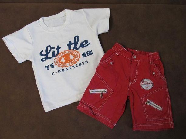 Футболка,шорты для мальчика