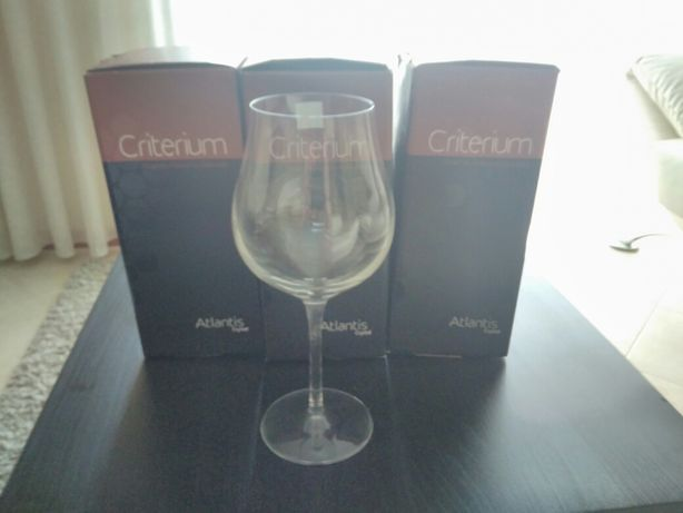 Copos coleccão Criterium, cristal Altantis