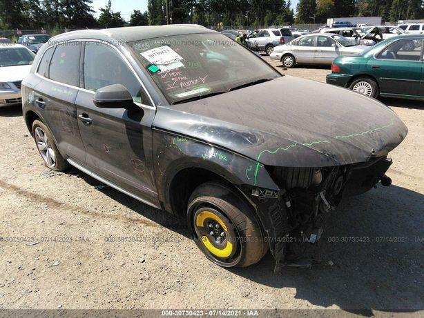 Audi Q5 Premium Plus 2018 Black 2.0L AWD - дата прибытия 29.10.2021