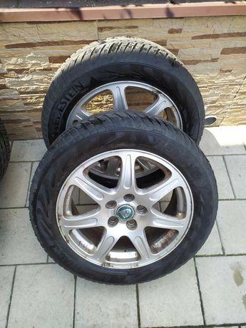 """Felgi aluminiowe z oponami zimowymi 16"""" 5x108 komplet Jaguar X - Type"""