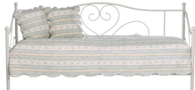 Ramą łóżka 90x200 cm białe jysk