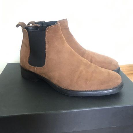 Ботинки осенние мужские Zara, челси, размер 41